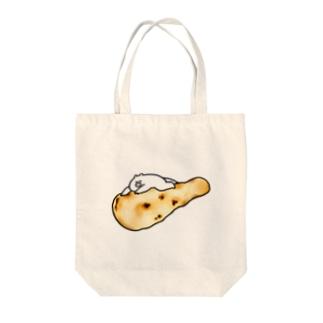 ナンとごりぶた Tote bags