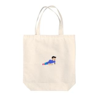 インナーマッスル Tote bags