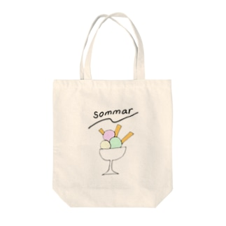 sommar_glass Tote bags