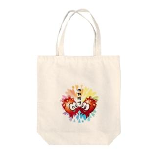 ホヤラブ Tote bags