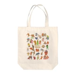 タヌタヌ探偵01 Tote bags