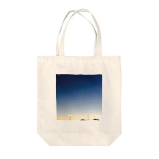 nigth. Tote bags