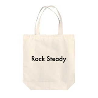 Rock Steady Tote bags