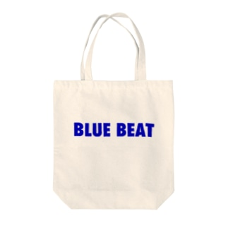 BLUE BEAT Tote bags