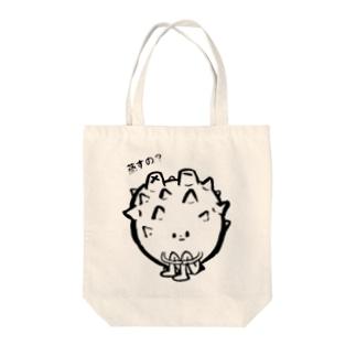 ホヤぼっち(蒸すの? Tote bags