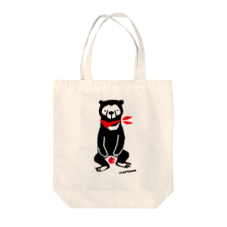 マレーグマとりんご Tote bags