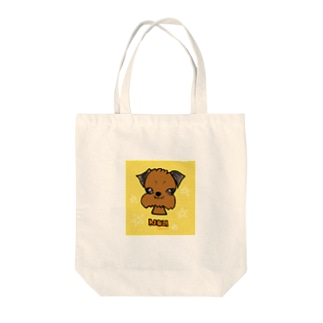 濃goods(ブリュッセルグリフォン) Tote bags