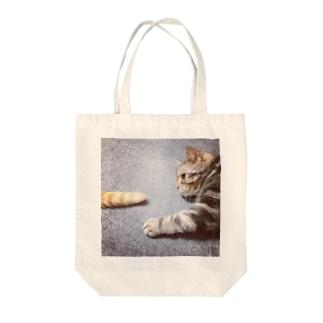 きなこ狩り Tote bags