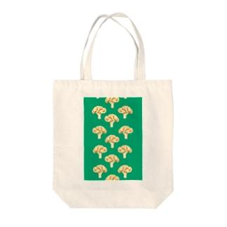 cauliflower グリーン Tote bags