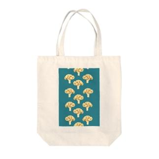 cauliflower ブルー Tote bags
