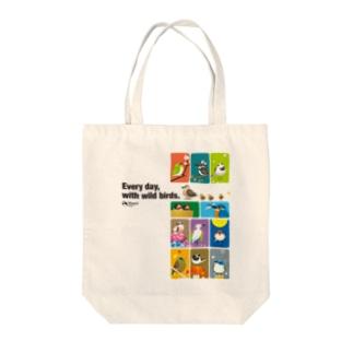 ことりの歳時記。 Tote bags