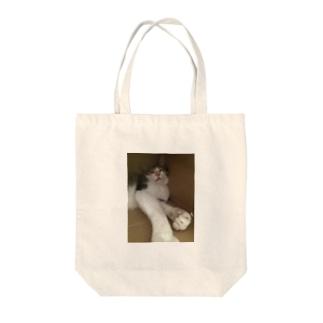 福ちゃん Tote bags