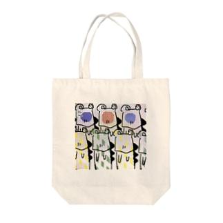 ワニくん Tote bags