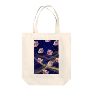 バラのイラスト Tote bags