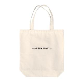WEEKDAY Tote bags