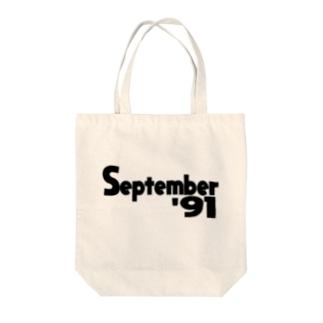 SEPTEMBER 91 Tote bags