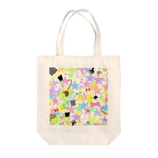ハイパーまみれオシャンティ☆ Tote bags