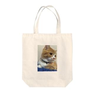 キメ顔らら Tote bags
