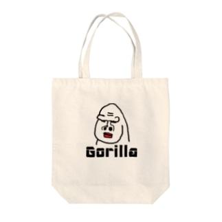 ゴリラのゴリオ Tote bags