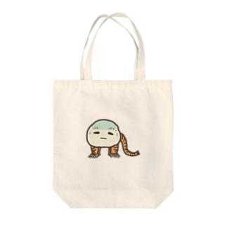 虎子石くん Tote bags