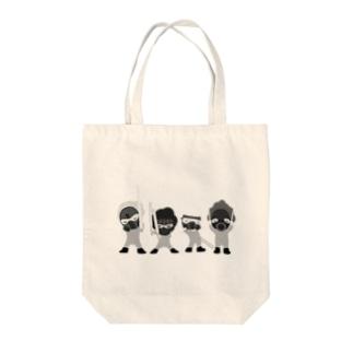 フォース3個分シルバー Tote bags