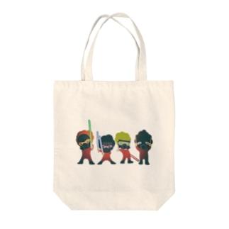 フォース3個分イカス色 Tote bags