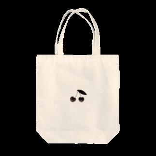 PAPER  HEKISUIのさくらんぼトートバッグ