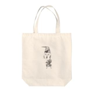 タキコミ・ゴ・ハーン Tote bags