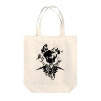 フォトコラージュグラフィック#1 Tote bags