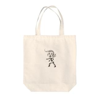 ミオリカワ・コタツ Tote bags