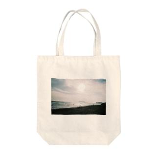 冬の七里ヶ浜 Tote bags