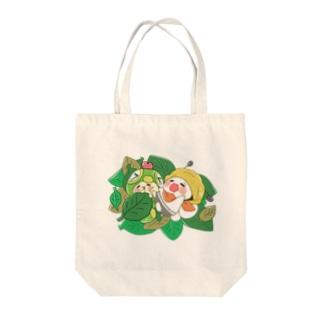 おひるねばぐずぅ Tote bags