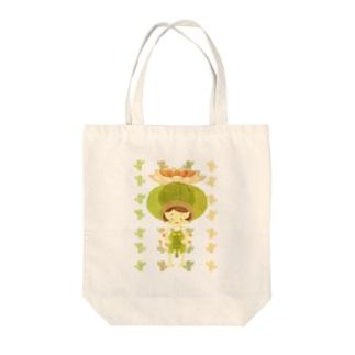 サボテン少女 Tote bags