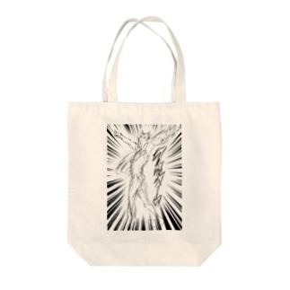 ケツアゴマッチョネコ3 Tote bags