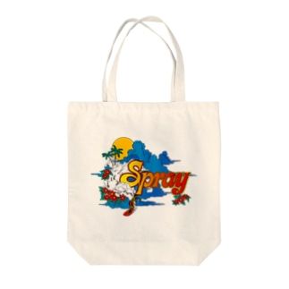 SPRAY Tote bags