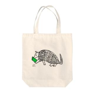 Tbooks_アルマジロ Tote bags