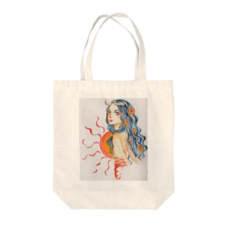 the sun Tote bags