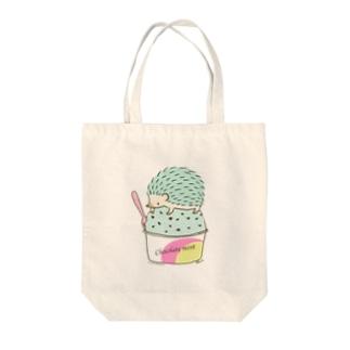 Choco Mint ハリネズミ トートバッグ