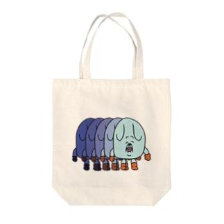 イヌマン帰宅 Tote bags