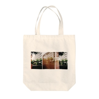 at the parks Tote bags
