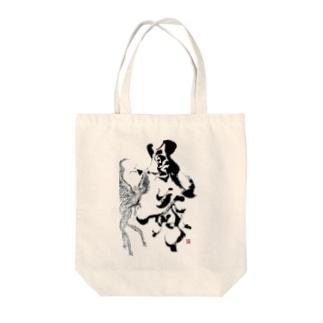 鳳舞-houbu- Tote bags