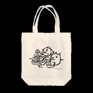 東南アジア食堂 マラッカ (カフェマラッカ)のパンケーキをつくる小梅うさぎと桃子さかな Tote bags