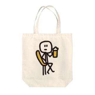泡のジュースとご一緒に Tote bags
