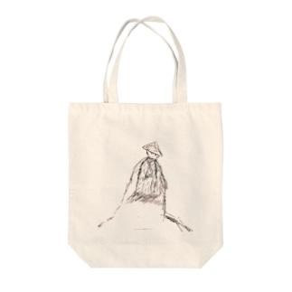 ツワブキ童子 Tote bags