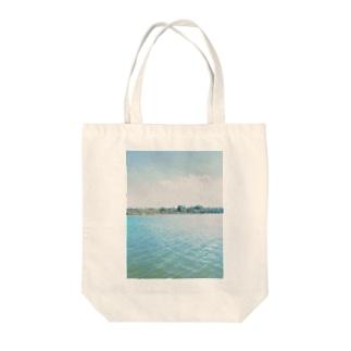 きゅーば Tote bags