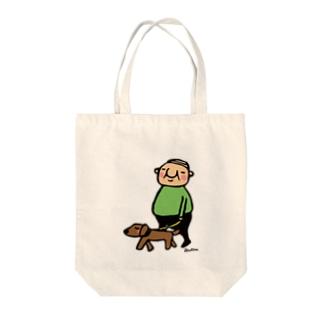 岩井係長の散歩 Tote bags