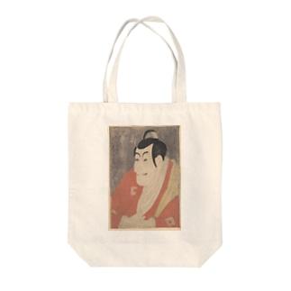 東洲斎写楽画 「市川鰕蔵」 Tote bags