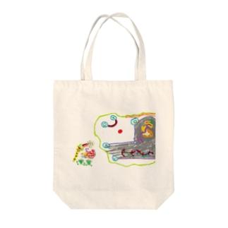 みんみんⅡとUUU Tote bags