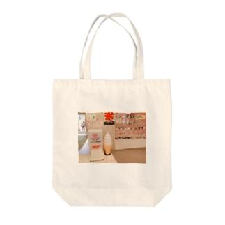 ソフトクリームのオブジェ Tote bags