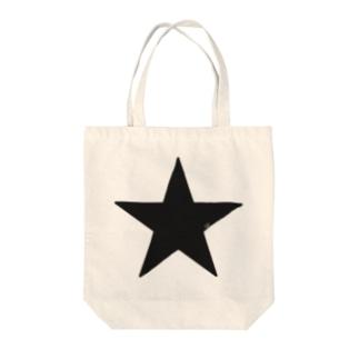 Black Star Tote bags